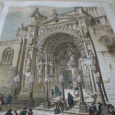 Arte: ORIGINAL LITOGRAFÍA COLOR DE PÉREZ VILLAAMIL S. XIX . Lote 176061200