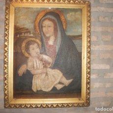 Arte: CUADRO PINTURA RELIGIOSA SOBRE TABLA. Lote 176070069