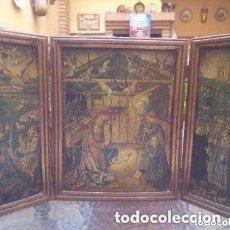 Arte: LO MANTENGO A PRECIO DE SALIDA SIETE DÌAS ( NACIMIENTO, REYES MAGOS Y ANUNCIACIÒN ). Lote 176088043