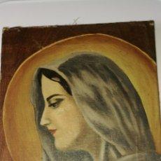 Arte: ANTIGUA PINTURA AL OLEO VIRGEN. Lote 176339825