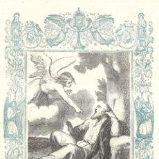 Arte: EL PROFETA ELÍAS - GRABADO DÉCADAS 1850-1860 - BUEN ESTADO. Lote 209310635