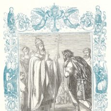 Arte: SAN JUAN, PAPA Y MARTIR - GRABADO DÉCADAS 1850-1860 - BUEN ESTADO. Lote 176369610