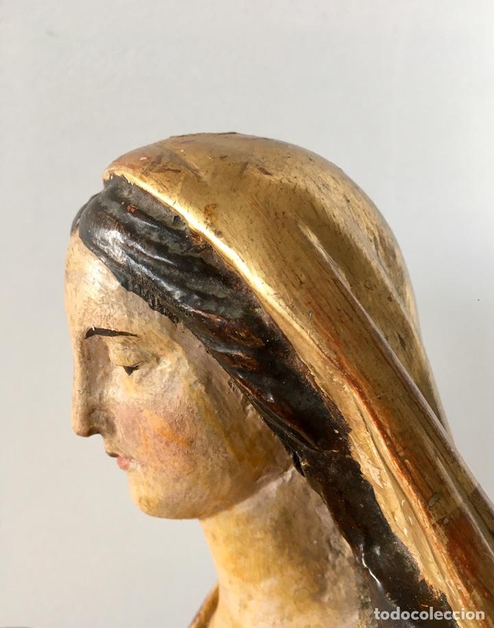 Arte: Virgen con el niño. 51cm. Escuela andaluza S.XVIII - Foto 18 - 176412457