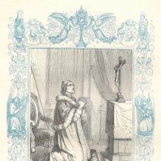 Arte: SAN PIO V PAPA - GRABADO DÉCADAS 1850-1860 - BUEN ESTADO. Lote 176434714