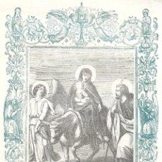 Arte: HUIDA A EGIPTO - GRABADO DÉCADAS 1850-1860 - BUEN ESTADO. Lote 176435423