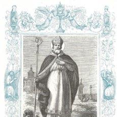 Arte: SAN LUIS, OBISPO - GRABADO DÉCADAS 1850-1860 - BUEN ESTADO. Lote 176436035
