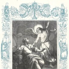 Arte: SAN PEDRO AQ-VÍNCULA - GRABADO DÉCADAS 1850-1860 - BUEN ESTADO. Lote 176437013