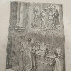 Arte: ANTIGUO GRABADO RELIGIOSO , DOCTRINA DE CRISTO . Lote 176451807