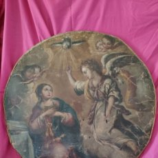 Arte: ÓLEO SOBRE LIENZO, ANUNCIACIÓN, SIGLO XVII-XVIII - 1000-039. Lote 176503863