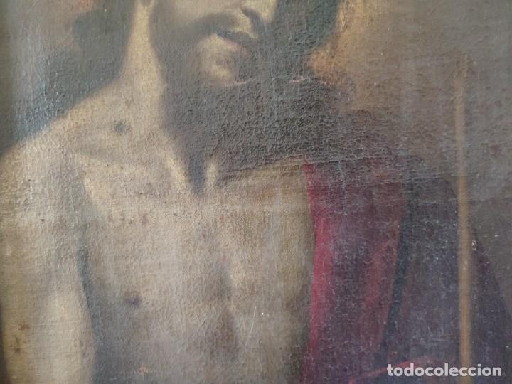 Arte: ÓLEO SOBRE LIENZO, ECCE HOMO, SIGLO XVI-XVII, 1000-044 - Foto 4 - 176505808