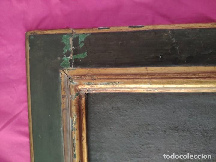 Arte: ÓLEO SOBRE LIENZO, ECCE HOMO, SIGLO XVI-XVII, 1000-044 - Foto 8 - 176505808