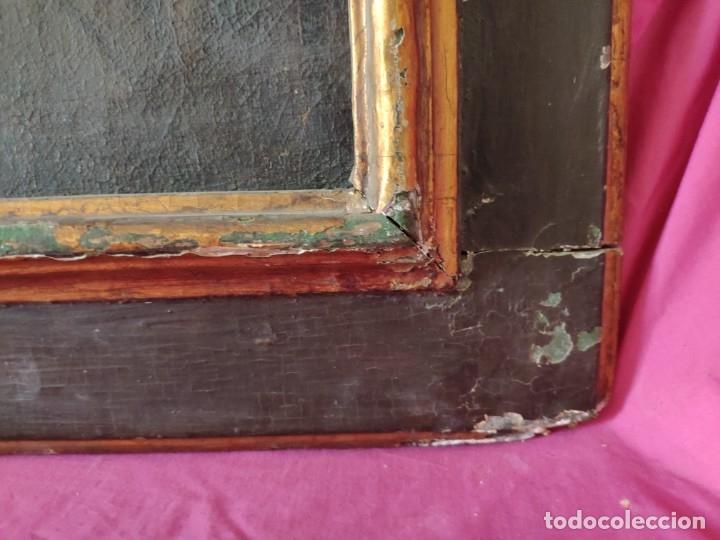 Arte: ÓLEO SOBRE LIENZO, ECCE HOMO, SIGLO XVI-XVII, 1000-044 - Foto 9 - 176505808