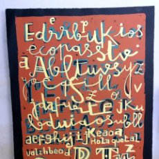 Arte: LITOGRAFIA ORIGINAL, FIRMADA Y NUMERADA A MANO, MARISCAL, H.C, TIRADA 10 EJEMPLARES, 76 X 56 CM. Lote 176585755