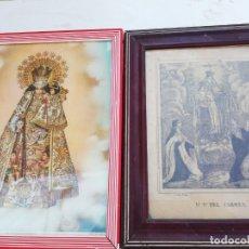 Arte: PAREJA DE CUADROS RELIGIOSOS. Lote 176822400
