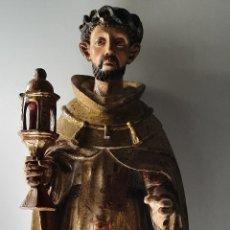 Arte: ESCUELA ESPAÑOLA DE FINALES DEL XVI PRINCIPIOS DEL XVII. SANTO MERCEDARIO.. Lote 176829649