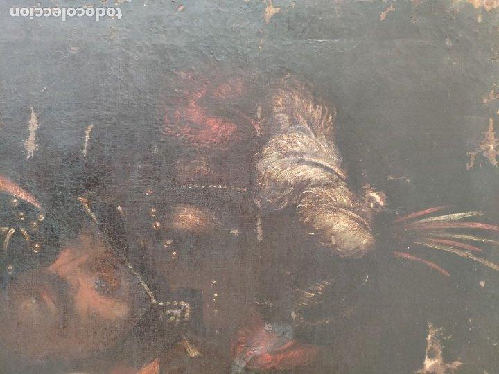 Arte: ÓLEO SOBRE LIENZO, ECCE HOMO, SIGLO XVI, 1000-076 - Foto 3 - 176838005