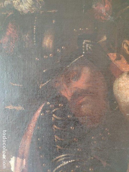 Arte: ÓLEO SOBRE LIENZO, ECCE HOMO, SIGLO XVI, 1000-076 - Foto 8 - 176838005