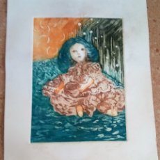 Arte: GRABADO ANTIGUO W.SCOTT. Lote 176885207