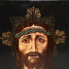 Arte: ANONIMO DE LA 2ª MITAD DEL SIGLO XX. OLEO SOBRE TABLA REPRESENTANDO AL NAZARENO. Lote 176907808