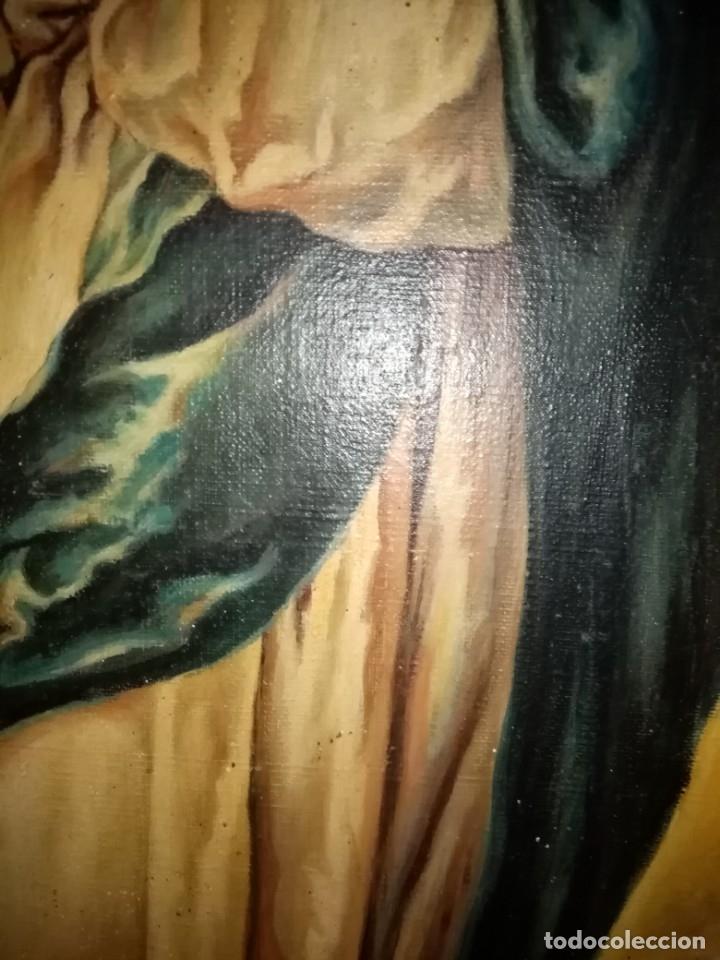 Arte: cuadro virgen antiguo - Foto 5 - 68341509