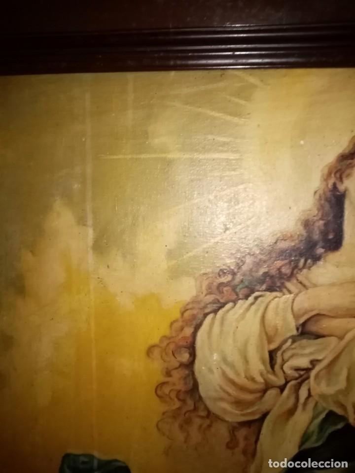 Arte: cuadro virgen antiguo - Foto 8 - 68341509