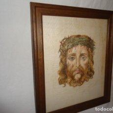Arte: CUADRO, SANTA FAZ DE JESUCRISTO, SOBRE LINO O SEDA.. Lote 177007560