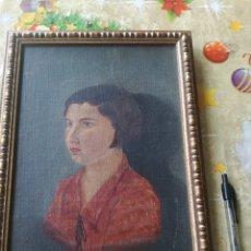 Arte: CUADRO ANTIGUO ARTISTA PINTOR PINTURA RETRATO. Lote 177024388