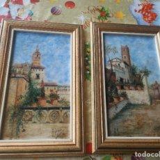 Arte: CUADRO ANTIGUO ARTISTA PINTOR PINTURA RETRATO A GOMEZ. Lote 177024818