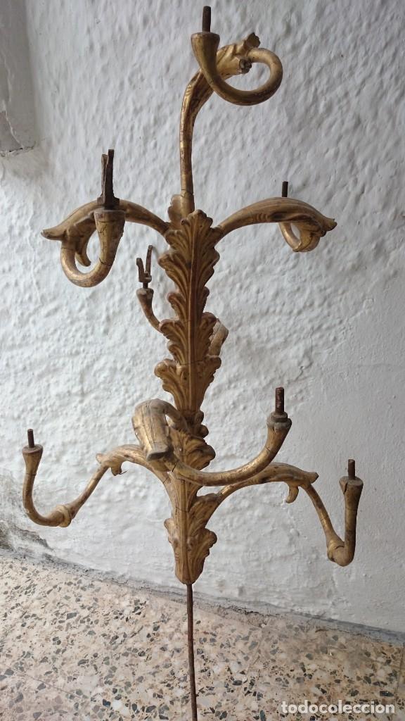 Arte: candelabro guardabrisas para restaurar - Foto 2 - 177051590