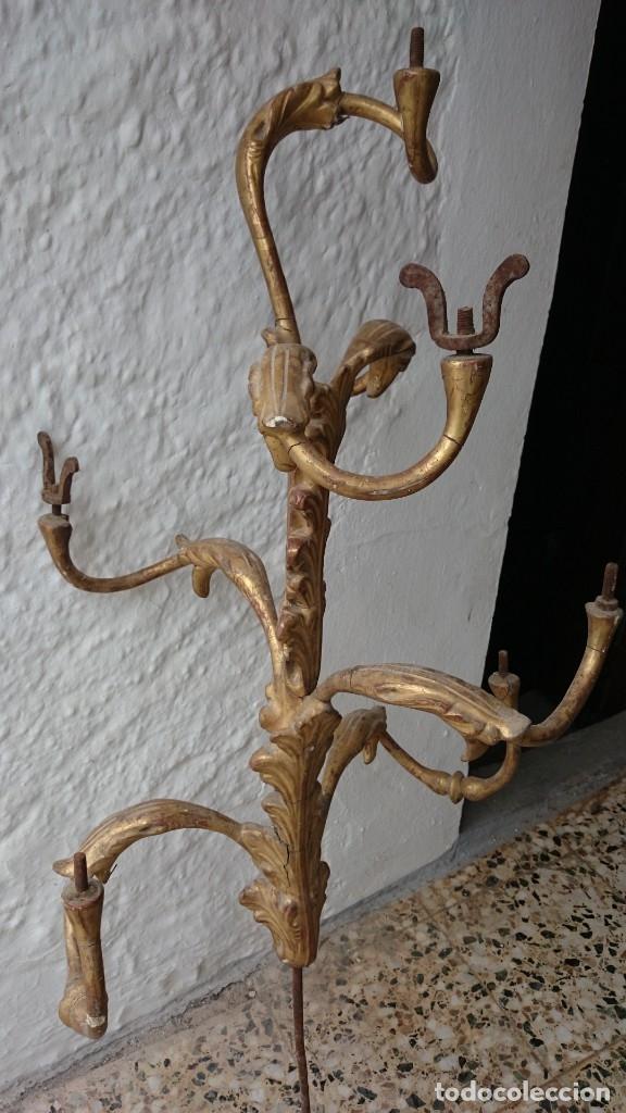 Arte: candelabro guardabrisas para restaurar - Foto 3 - 177051590