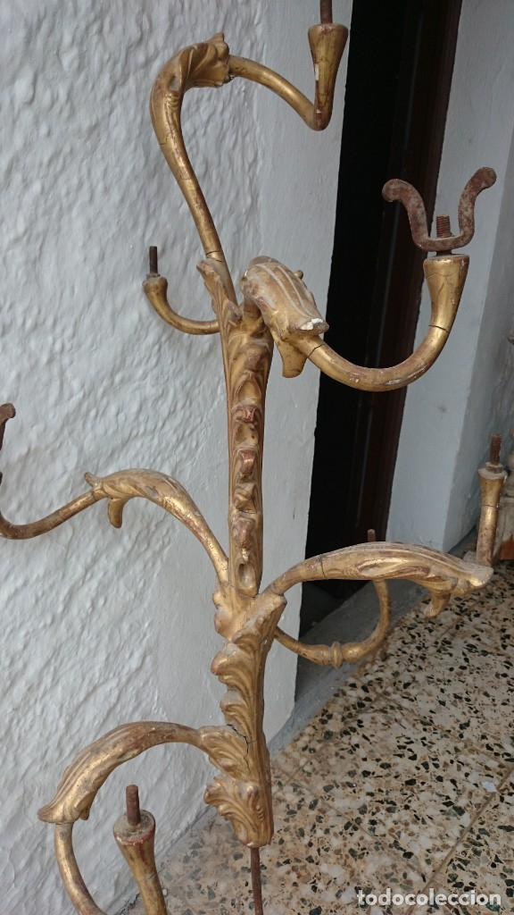Arte: candelabro guardabrisas para restaurar - Foto 4 - 177051590