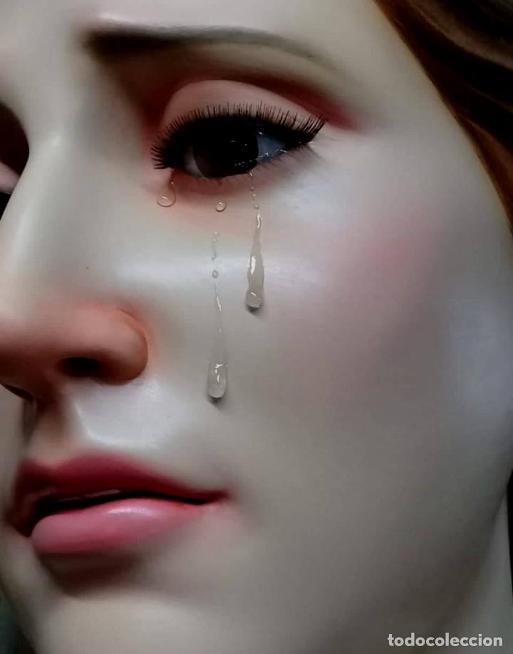 Arte: ESCULTURA VIRGEN MARIA DOLOROSA 1 METRO 60 DE ALTURA - Foto 6 - 177068724