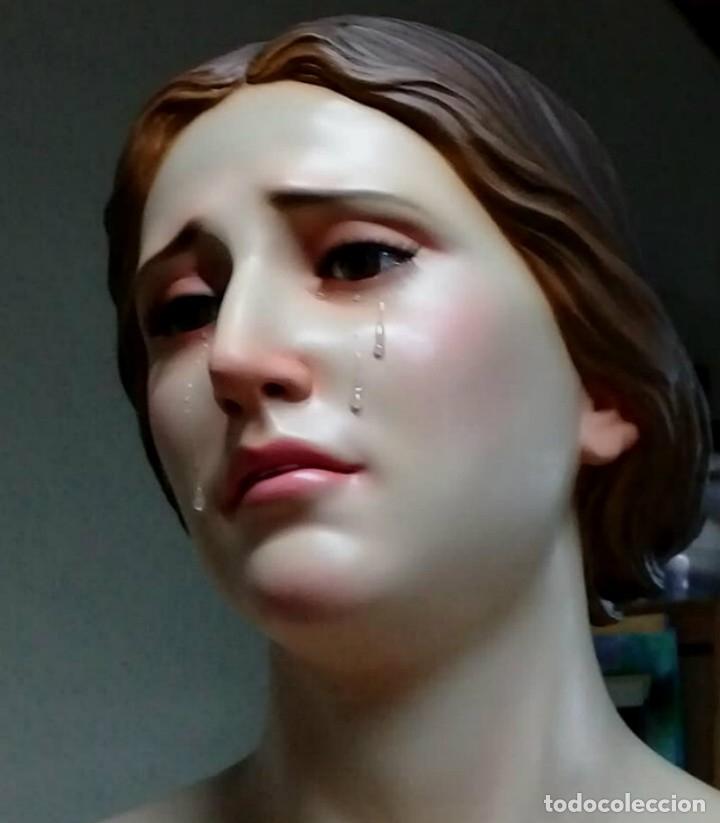 Arte: ESCULTURA VIRGEN MARIA DOLOROSA 1 METRO 60 DE ALTURA - Foto 7 - 177068724