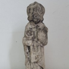 Arte: ESCULTURA EN PIEDRA SAN PEDRO APOSTOL. Lote 177075488