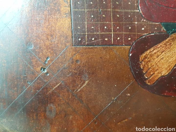 Arte: Pantocrator (XIX-XX) - Gran Retablo Anonimo.Temple/tabla. - Foto 10 - 176648550