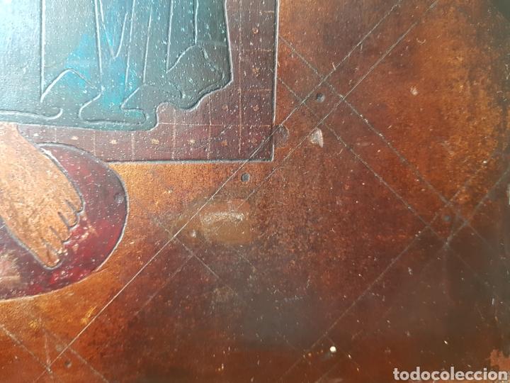 Arte: Pantocrator (XIX-XX) - Gran Retablo Anonimo.Temple/tabla. - Foto 11 - 176648550