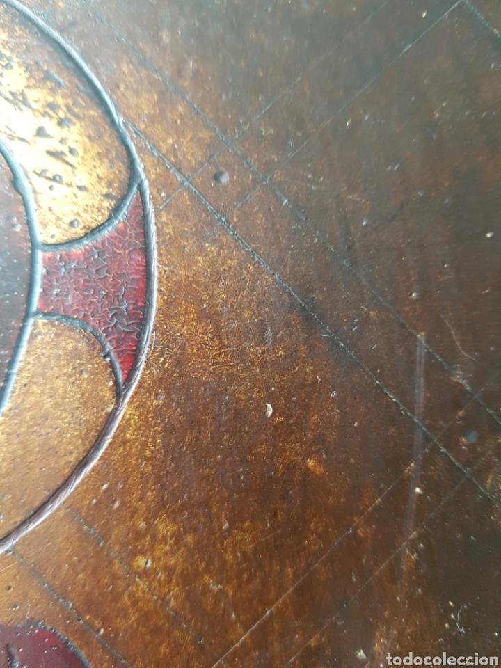 Arte: Pantocrator (XIX-XX) - Gran Retablo Anonimo.Temple/tabla. - Foto 12 - 176648550
