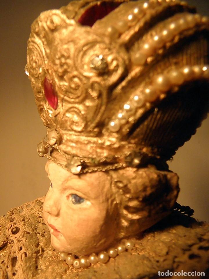 Arte: FIGURA ESTATUA DE EL NIÑO JESUS DE PRAGA S XIX - Foto 6 - 177217247