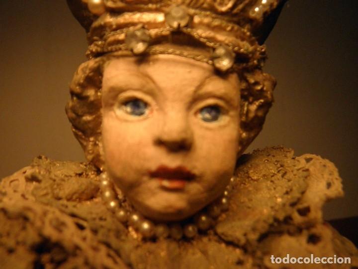 Arte: FIGURA ESTATUA DE EL NIÑO JESUS DE PRAGA S XIX - Foto 7 - 177217247