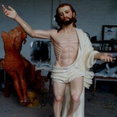 Arte: ESCULTURA CRISTO RESUCITADO TAMAÑO NATURAL. Lote 177436522