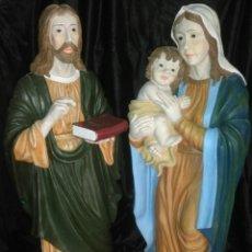 Arte: ESPECTACULARES FIGURAS DE LA SAGRADA FAMILIA.MUY GRANDES.. Lote 177553667