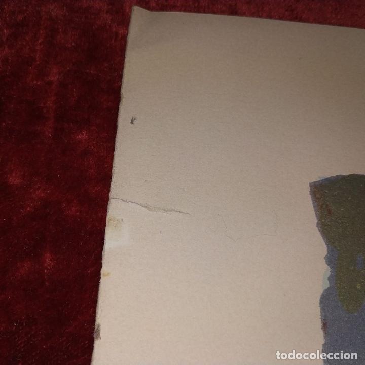 Arte: COMPOSICIÓN. LITOGRAFÍA SOBRE PAPEL. FIRMADO. P/A. ESPAÑA. SIGLO XX - Foto 11 - 177566832