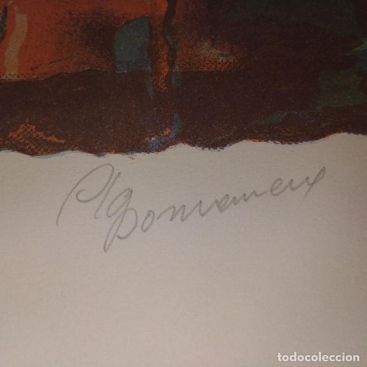 Arte: COMPOSICIÓN. LITOGRAFÍA SOBRE PAPEL. FIRMADO. P/A. ESPAÑA. SIGLO XX - Foto 13 - 177566832