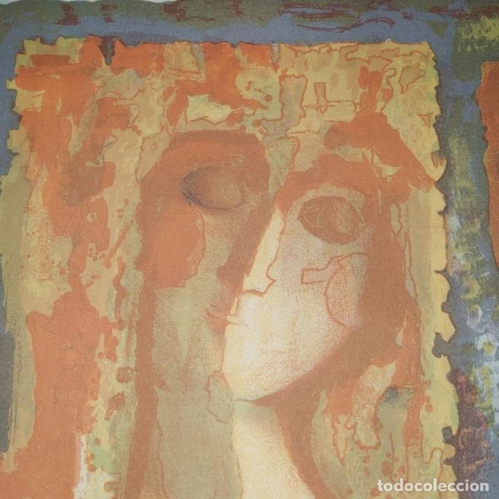 Arte: COMPOSICIÓN. LITOGRAFÍA SOBRE PAPEL. FIRMADO. P/A. ESPAÑA. SIGLO XX - Foto 14 - 177566832