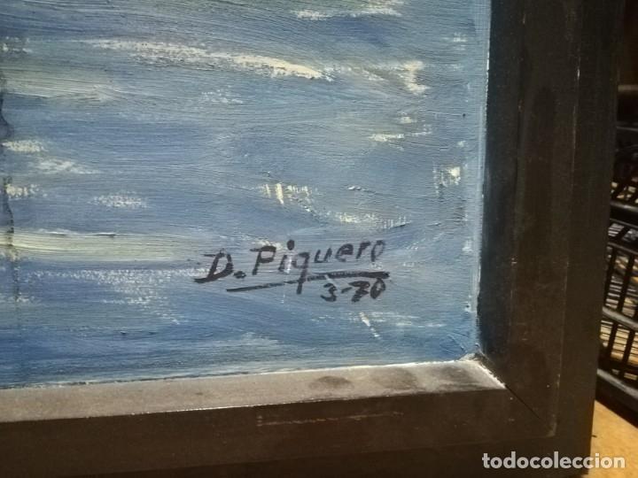 Arte: OLEO SOBRE MADERA. FIRMADO - Foto 3 - 177674119