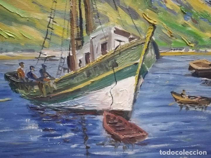 Arte: OLEO SOBRE MADERA. FIRMADO - Foto 4 - 177674119