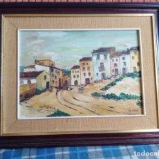 Arte: CUADRO - ÓLEO, CON MARCO. Lote 177718930