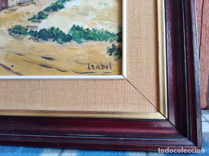 Arte: Cuadro - óleo, con marco - Foto 2 - 177718930