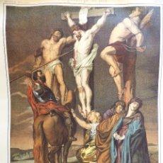 Arte: 25 LITOGRAFÍAS COLOREADAS DE LA HISTORIA DE JESUCRISTO. AÑOS 1860. Lote 177755179