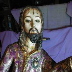 Arte: VIA CRUCIS PASSION JESUS CHRIST OLOT AND WOOD. COLONIAL PERU.CENTURY 18 - 19. Lote 177757967